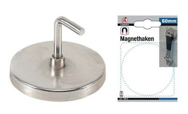 Crochet magnetique diametre 60 mm