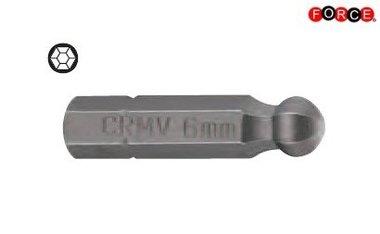 Embout t te ronde Inbus 1/4 -25mmL