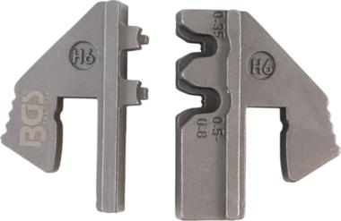Mors pour connecteurs étanches à l'eau (H6) | pour BGS 1410, 1411, 1412