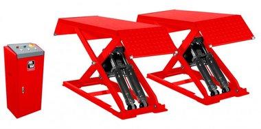 Pont élévateur à ciseaux 3 tonnes avec hauteur de levage de 960 mm