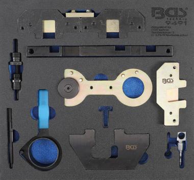 Insert de servante datelier 2/3 : Coffret de calage pour BMW M40, M44, M50, M52, M54, M56