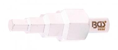 Cle de chauffagiste carre mle 12,5 mm (1/2) 4 etages