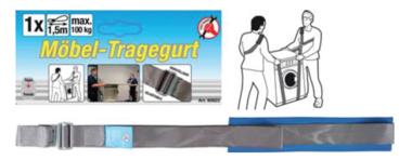 Sangle de levage pour meubles r eglable 100 kg