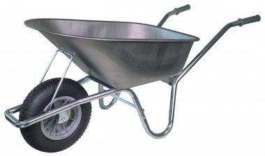 Brouette bricolage galvanise cadre 85 litres