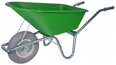 Brouette de jardin cadre galvanise 100 litres