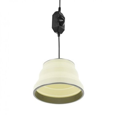 Lampe suspendue LED pliable blanc 15cm