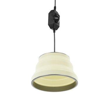 Lampe suspendue LED pliable blanc 25cm