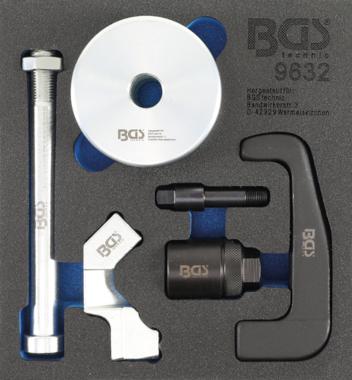 Extracteur d'injecteurs pour injecteurs Bosch CDI 6 pieces