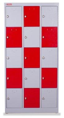 Armoire metallique 3 colonnes 15 etageres