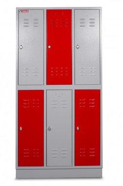 Armoire metallique 6 portes