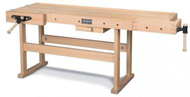 Etabli en bois professionnel - 2120x790 mm
