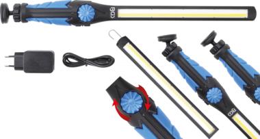 Baladeuse COB-LED/UV ultra plate