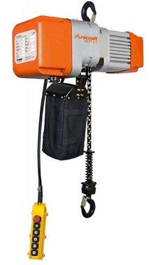 Palan electrique a cha ne 0,5 ton, 641x276x410mm