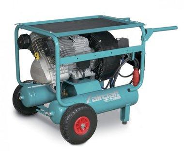 Compresseur de chantier mobile hos 10 bar - 2x11 litres