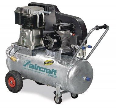 Chaudiere compresseur d'huile galvanisee avec entrainement par courroie 15 bar, 109 kg 100 litres
