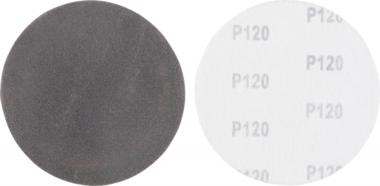Jeu de disques abrasifs grain 120 carbure de silicium 10 pieces