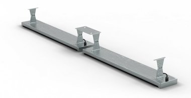 Support plafond 396x1,5x120mm pour MO9818