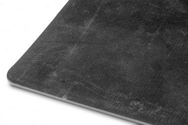 Caoutchouc noir au metre, plat 1mx1400mmx5mm