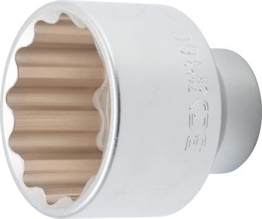 Douille pour cle, douze pans 20 mm (3/4) 60 mm