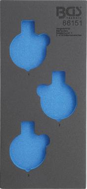 Insert de servante d'atelier 1/3, vide pour art.66151