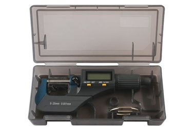 Plage de micrometre numerique 0-25mm