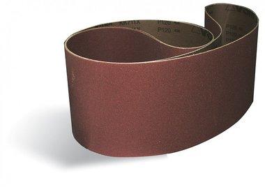 Bandes abrasives métal / bois 75x1180mm x10 pièces