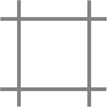 Treillis métallique pour volière Quadra sat. 13x0.8 50 cm x 10 m