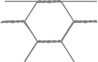 Maille hexagonale Avigal 40x0,9 50 cm x 10 m