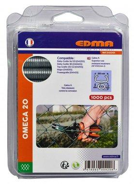 Edma courbes d'anneaux Omega 20 mm Crapo 1000 pièces
