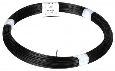 Ficelle PVC noir 1,4/2,0 mm 50 m