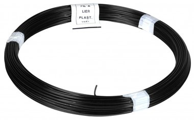 Ficelle PVC noir 100 m 1,4/2,0 mm