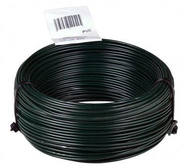 Ficelle PVC vert 1.4/2.0 mm 50 mtr anneau