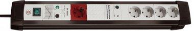 Parafoudre Premium-Line 5 groupes noir/gris clair 3 m
