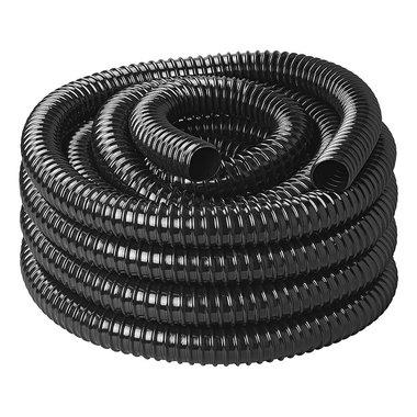 Tuyau d'evacuation pour adoucisseur d'eau noir 10M / 25mm