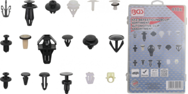Assortiment de clips de fixation automobiles pour Honda 418 pieces