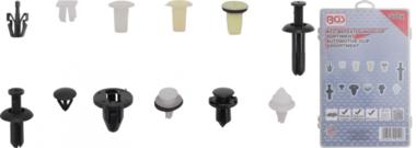 Assortiment de clips de fixation automobiles pour Mitsubishi 370 pieces