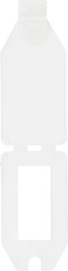 Etiquette de prix, plastique 40 x 27 mm