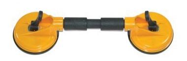 Ventouse - flexible à deux pistons (plastique)
