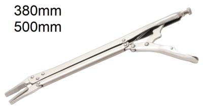 Pinces etau longs becs 380 mm