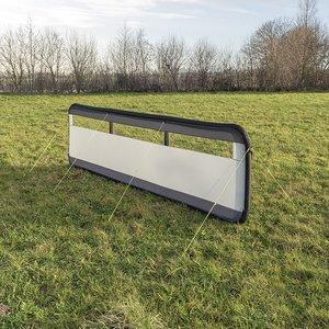 Brise-vent gonflable 480x140cm