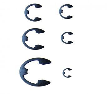 Ensemble metrique E-Clip de 300 pieces, 1,5-22 mm