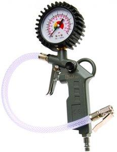 Gonfleur pneumatique à poignée pistolet 0 - 8 bar