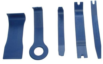 Jeu de coins nylon pour garnitures diverses formes 5 pièces