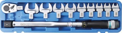 Jeu de clés dynamométriques 40 - 210 mm 11 pièces