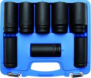 3/4 douilles Impacts, 22-38 mm, long 90mm 8 pieces