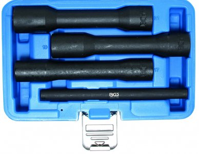 Ensemble de 4 pièces 1/2 Special Twist Socket, type profond