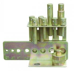 Set de poincons 10-30 mm pour presses
