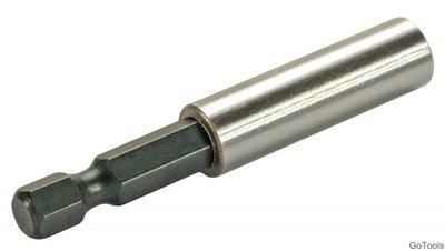 Porte-embout magnétique poussée six pans intérieurs 6,3 (1/4) 60 mm