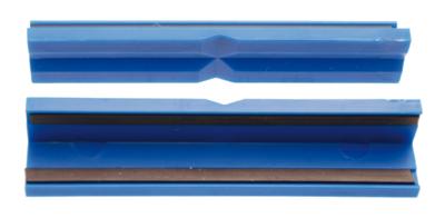2 pièces Mors de protection pour étau matière plastique largeur 125 mm