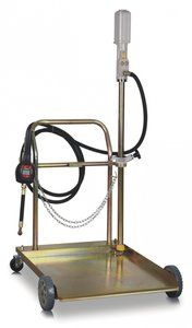 Pompe pneumatique mobile 180-200 l, pistolet manuel
